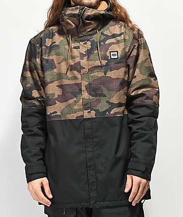 686 Foundations 10K chaqueta de snowboard de camuflaje