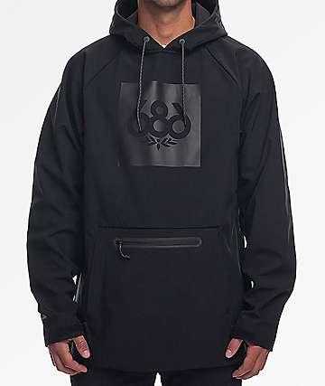 686 Infinidry All Black Hoodie