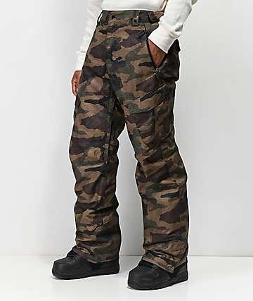 686 Infinity pantalones de snowboard de camuflaje