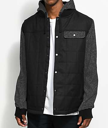 686 Parklan Bedwin Insulated Black & Charcoal Jacket