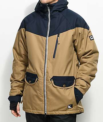 686 Piano 15K chaqueta de snowboard en color caqui