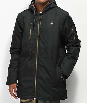 686 Riot 10K chaqueta de snowboard negra