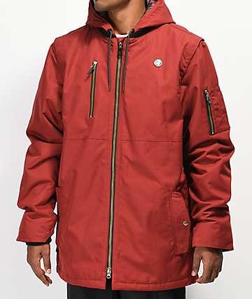 686 Riot 10K chaqueta de snowboard roja