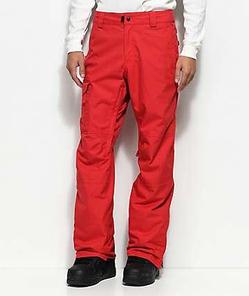 686 Rover 10K pantalones de snowboard rojos