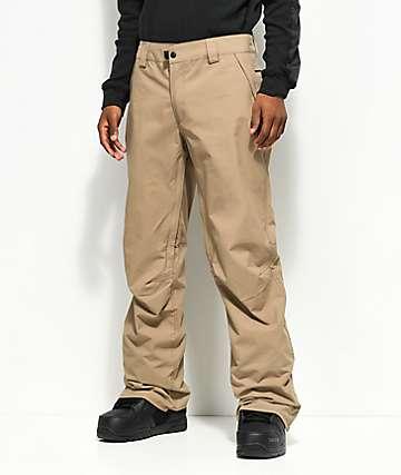 686 Standard 5K pantalones de snowboard caqui