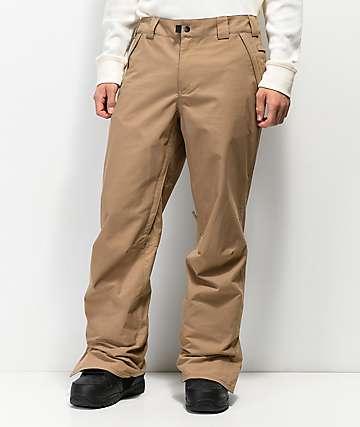 686 Standard Shell 5K pantalones de snowboard en marrón