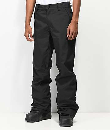 686 Standard Shell pantalones snowboard negros