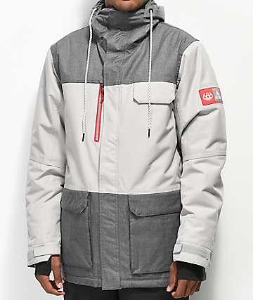 686 x Coors Light Sixer10K chaqueta de snowboard gris