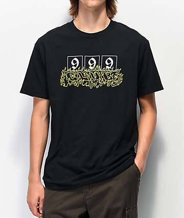 999 Club by Juice WRLD 999 Black T-Shirt