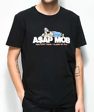 A$AP Mob Too Cozy Black T-Shirt