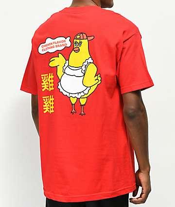 A-Lab Chicken Flavaz camiseta roja