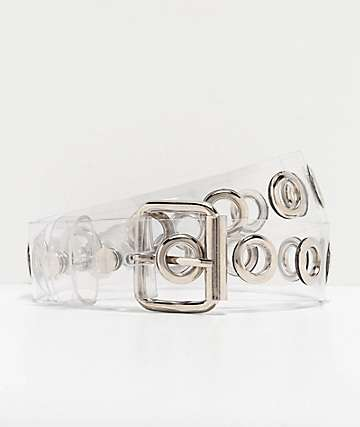A-Lab Clear Grommet Belt