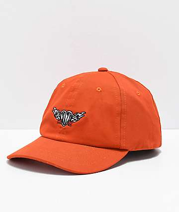 A-Lab Crazy Orange Strapback Hat