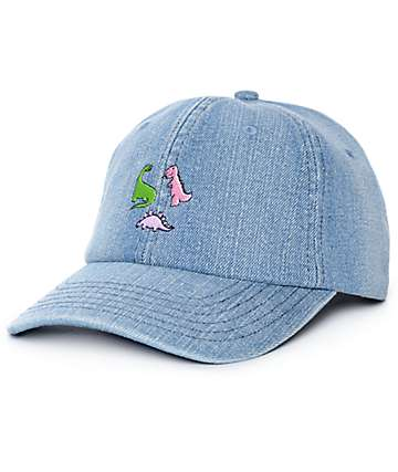 A-Lab Dino Denim Strapback Baseball Hat