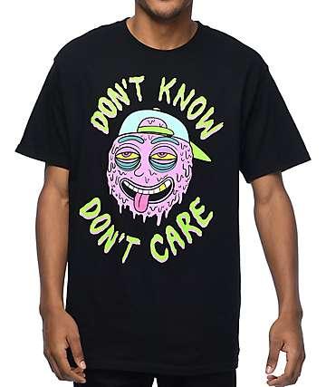 A-Lab Don't Care Black T-Shirt