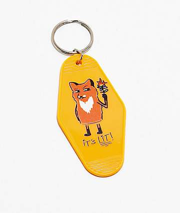 A-Lab Fox Hotel Key Chain
