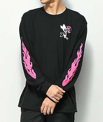 A-Lab Give 'Em Hell Black Long Sleeve T-Shirt