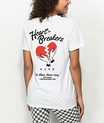 A-Lab Heartbreakers Club White T-Shirt