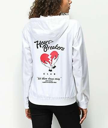 A-Lab Kenlie Heartbreaker chaqueta cortavientos blanco