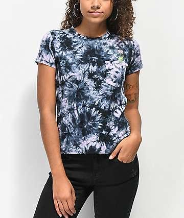A-Lab Kito Alien Hand Lavender Tie Dye T-Shirt