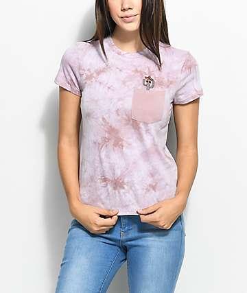 A-Lab Kito Cactus Tie Dye Pocket T-Shirt