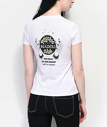 A-Lab Kito Psychic Club White T-Shirt