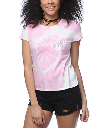 A-Lab Kito Space Babe Pink Tie Dye T-Shirt