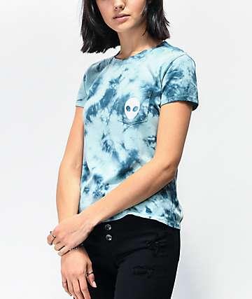 A-Lab Kito camiseta azul claro con bolsillo