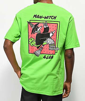 A-Lab Man-Witch Green T-Shirt