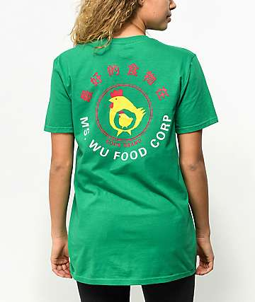 A-Lab Ms Wu Food Corp Green T-Shirt