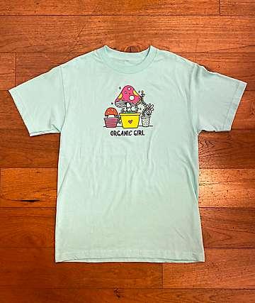 A-Lab Organic Girl Mint Green T-Shirt