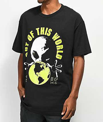 A-Lab Out Of This World Black T-Shirt