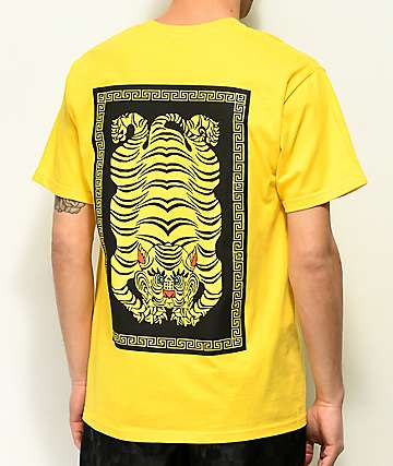 A-Lab Phat Kats camiseta amarilla