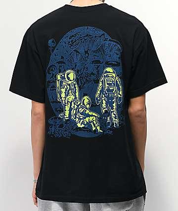 A-Lab Planet Of Fungi Black T-Shirt