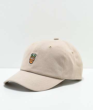A-Lab Potted Khaki Strapback Hat
