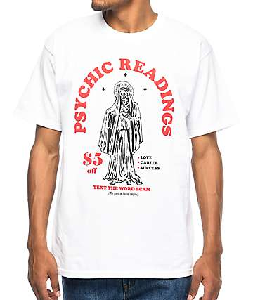 A-Lab Psychic Readings White T-Shirt