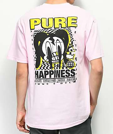 A-Lab Pure Happiness Pink T-Shirt
