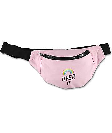 A-Lab Rainbow Light Pink Fanny Pack