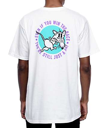 A-Lab Rat Race White T-Shirt