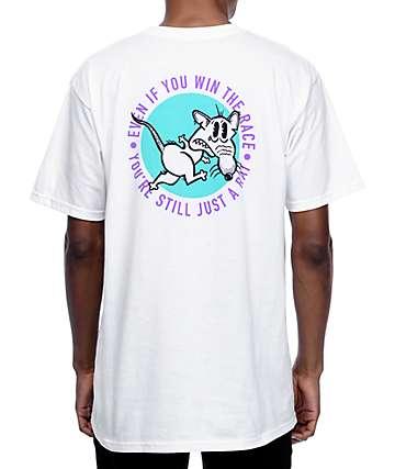 A-Lab Rat Race White T-Shirt