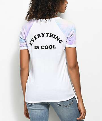 A-Lab Rhue Everything Cool camiseta blanca con el cuello en V