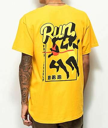 A-Lab Run From Yourself camiseta dorada