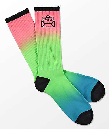 A-Lab Send It Dip Dye Crew Socks