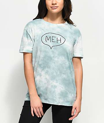 A-Lab Shannon Meh Blue Tie Dye T-Shirt