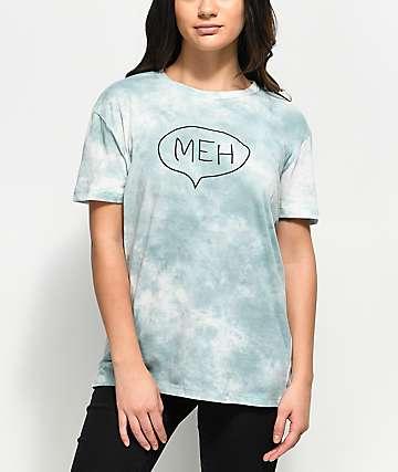 A-Lab Shannon Meh camiseta azul con efecto tie dye