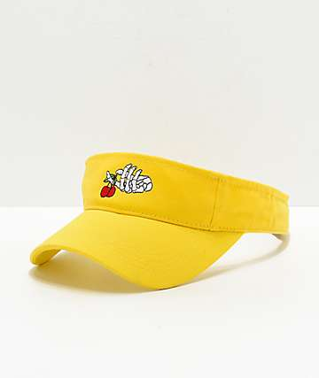 A-Lab Skeleton Hand Yellow Visor