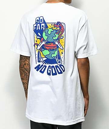 A-Lab So Far No Good White T-Shirt