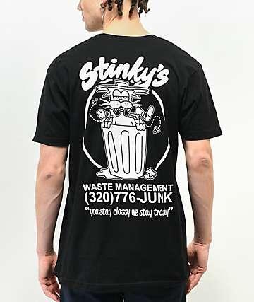 A-Lab Stinky's Black T-Shirt