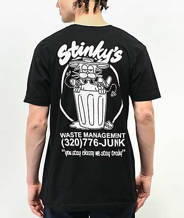 A-Lab Stinky's Black T-Shirt