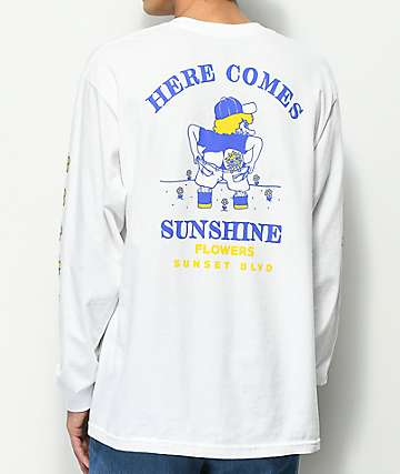 A-Lab Sunshine White Long Sleeve T-Shirt